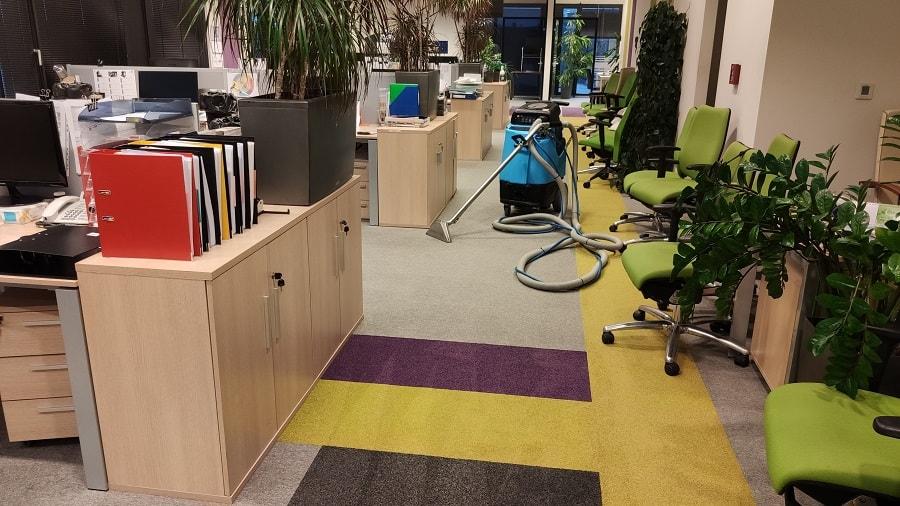 warszawa czyszczenie wykładzin dywanowych